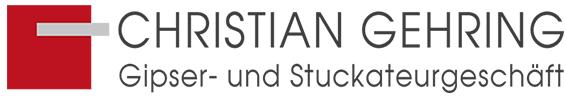 Logo von Gehring Gipsergeschäft Elzach mit Link zur Homeseite